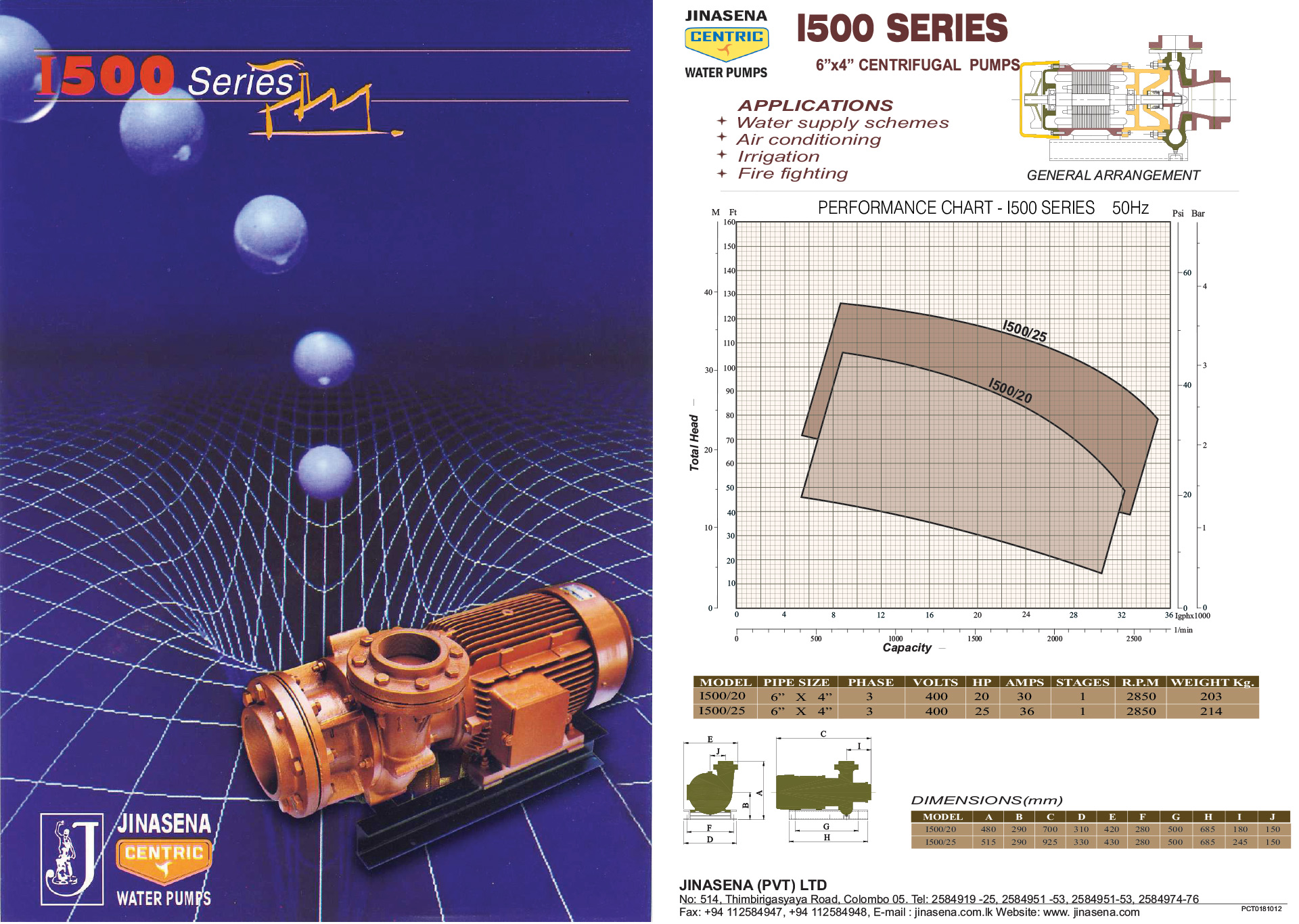 Jinasena Water Pumps In Sri Lanka High Volume Diesel Engines Yanmar 1500 Engine Diagram